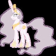 Princess Molestia alternate mane color