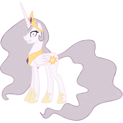 File:Princess Molestia alternate mane color.png