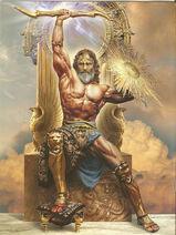 Zeus Jupiter Greek God Art 03