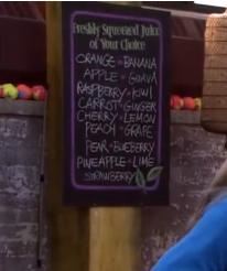 Squeezed menu