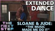 """The Next Step - Extended Dance- Sloane & Jude- """"Music Made Me Do It"""""""""""