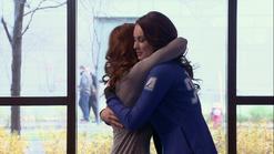 Loap giselle and amanda hug