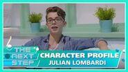 Character Profile Julian Lombardi - The Next Step