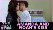 The Next Step Season 4 – Episode 24 Amanda and Noah's Kiss