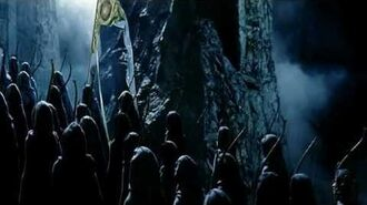 Elves at aid of Helm's Deep