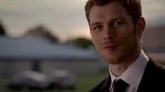 Klaus saves Caroline