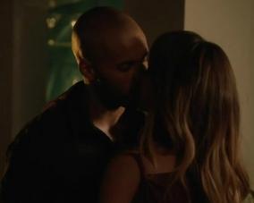 Leon Danielle first kiss