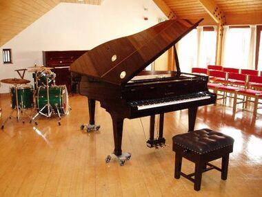 Calderbank music room