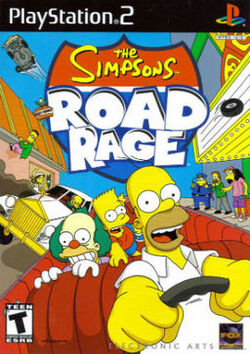 256px-The Simpsons Road Rage