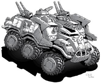 Tribune Mobile Tactical Command HQ