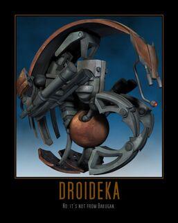 Star wars the clone wars droideka by seekerarmada-d5n89hz