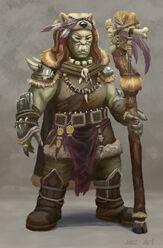 Orc shaman by firstnull-d5bz2kk