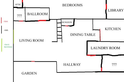 Haunted Hill Map