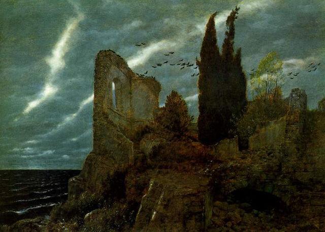 File:Ruins by the sea 1880.jpg