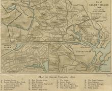 1692 Salem Massachusetts map BPL 12894