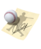 C088 Autographs celebrities i01 Autograph baseball player