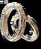 C209 Enamored Presents i05 Pair Rings