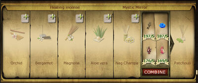 Collection 250 Healing incense cropped