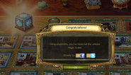 Harvest festival magic cub complete notification