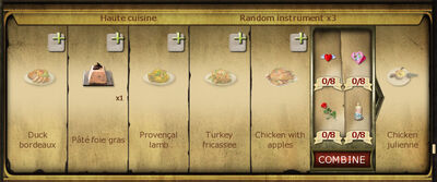 Collection 232 Haute cuisine cropped