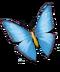 Treasure Island Update Butterfly blue
