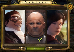 Selecting Avatar 2
