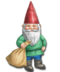 C234 Garden gnomes i06 Gnome sack