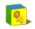 C570 Toy blocks i02 Lion block