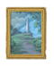 C373 Collector's paintings i03 Lighthouse on the hill