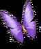 Treasure Island Update Butterfly purple