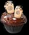 C261 Halloween snacks i05 Afterworld cupcake