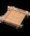 C087 Wooden dinnerware i01 Bamboo coaster