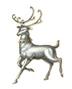 C468 Christmas sleigh i02 Dancer figurine