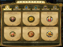 Harvest Talisman Inventory