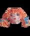 C169 Halloween fuss i04 Burlap sack head