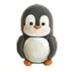 C474 Marzipan dainties i04 Marzipan penguin