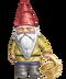 C234 Garden gnomes i04 Gnome basket