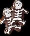 C261 Halloween snacks i04 Skeleton cookies