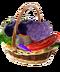 C133 Exotic vegetables i06 Vegetable basket