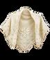 C305 Bad weather protection i01 Knit shawl