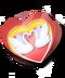 C207 Valentines Card i03 Swan