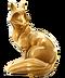 C299 Golden statuettes i04 fox