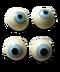 C168 Halloween decorations i04 Floating eyes