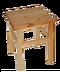 C161 Crime scene i01 Wooden stool