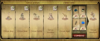 Collection 320 Circus animals cropped