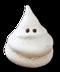 C261 Halloween snacks i01 Ghost meringue