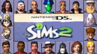 Sims 2 (DS) Music - Strangetown Theme