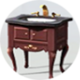 Poulton Footed Sink Vanity Icon