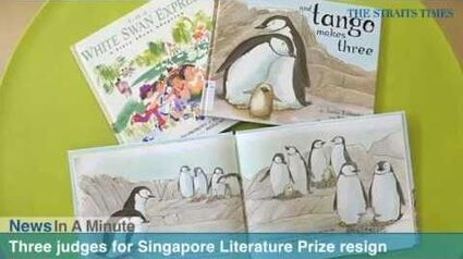 3 S'pore Literature Prize judges resign to protest pulping of gay-friendly children's books
