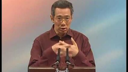 PM Lee Hsien Loong exempts indoor talks from police licence (22 Aug 2004)